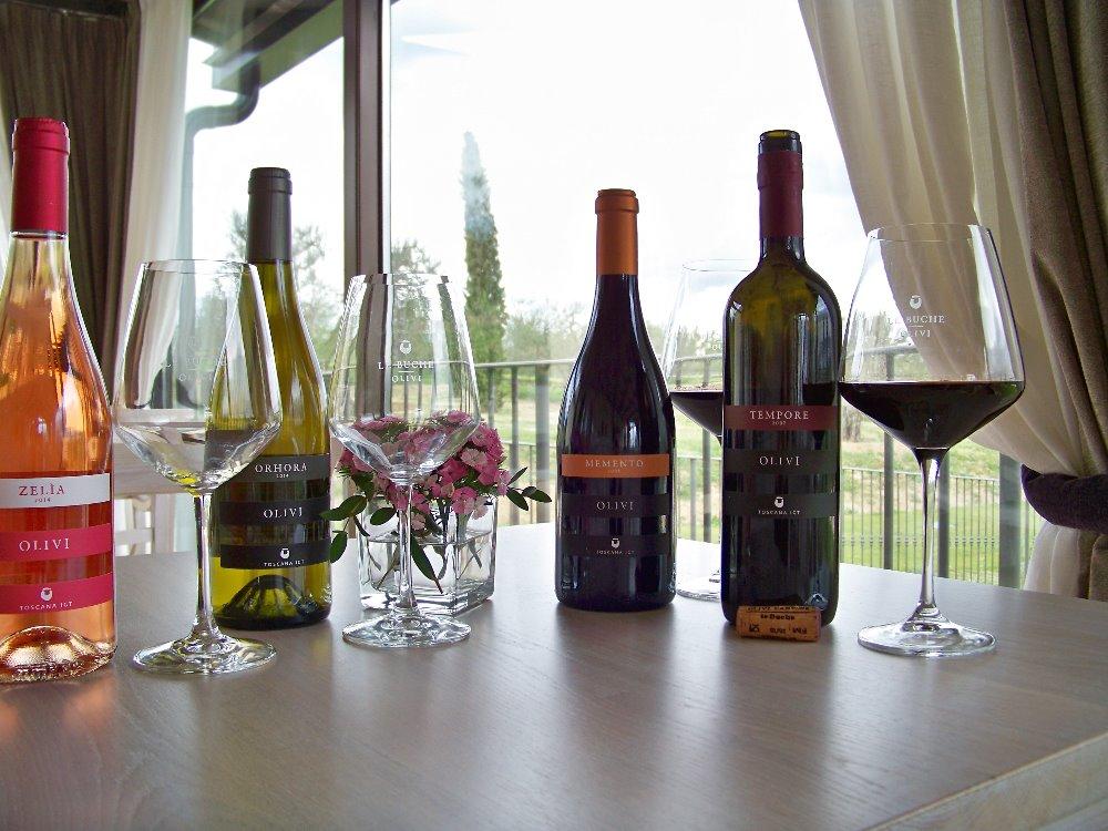 TEMPORE OLIVI LE BUCHE Un vino rosso dal lungo affinamento