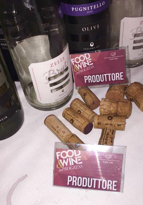 CANTINA LE BUCHE A FOOD&WINE IN PROGRESS A Firenze dal 27 al 28 Novembre 2016