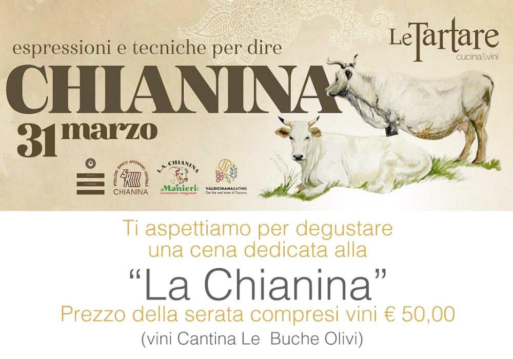 CENA DEGUSTAZIONE I vini Le Buche accompagnano la Chianina
