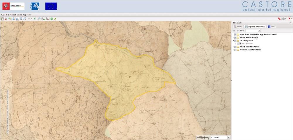 Vigneto map Azienda agricola Lebuche